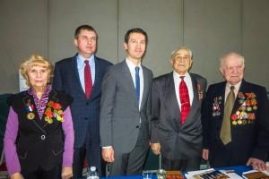 Награждение ветеранов ВОВ
