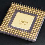 Intel 80486DX2 bottom