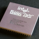 Intel 80486DX2 top