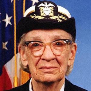 Контр-адмирал ВМФ США Грейс Хоппер