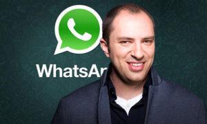 Ян Кум - основатель WhatsUp