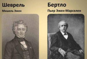 Марселен Бертло-Мишель Шеврёль