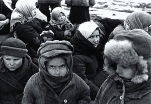 Ташкент. Вокзал. 1941 год