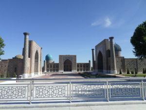 Площадь Регистана. Самарканд