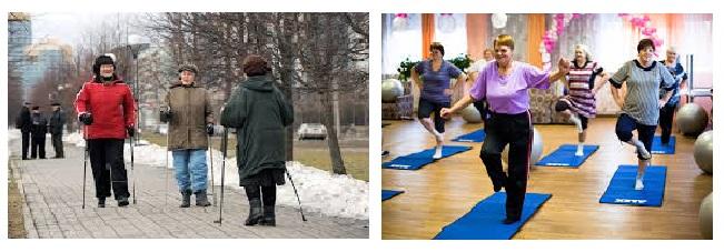 Ходьба, физические упражнения необходимы вашему организму!