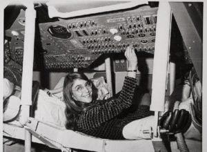 Гамильтон во время её пребывания в качестве ведущего разработчика ПО для Аполлона