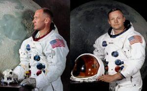 Эдвин Олдрин и Нил Армстронг -астронавт