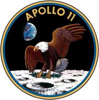 Эмблема Аполлон 11.