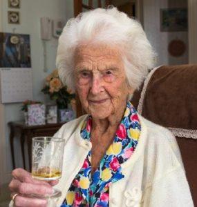 Джонс Грейс в 111 лет