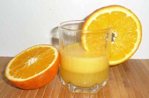 Сок из лимона и апельсина