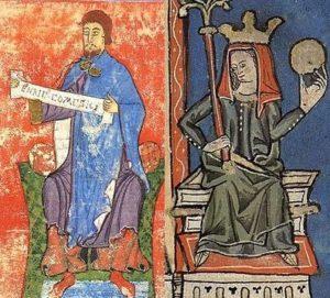 Генрих II Бургундский и Принцесса Кастильская