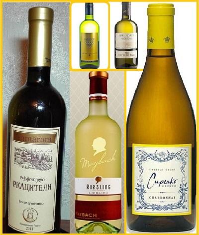Лучшие сорта белого сухого вина