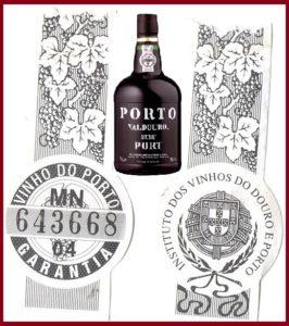 Cпециальная марка Института вин Дору и Порту Коллаж
