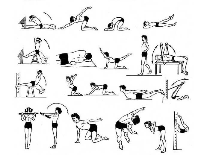 Нетравматические упражнения