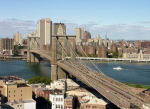 Панорама Бруклинского моста