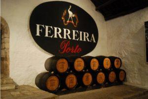 Винный подвал фирмы Ferreira
