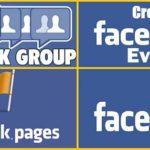 Страница (Page), Группа (Group) и Событие (Event) в социальной сети Facebook