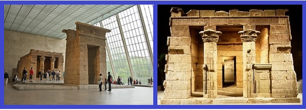 Древне-египетский храм Дендур