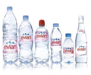 Питьевая вода Evian