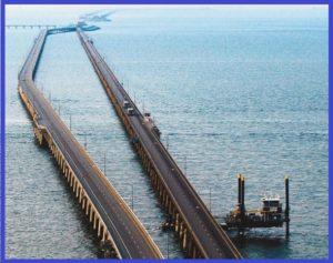 Мост-тоннель через Часапикский залив