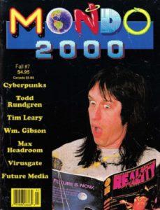 Обложка журнала Мондо 2000