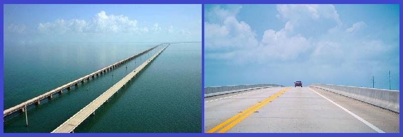 Одиннадцатикилометровый мост на Ки-Уэст