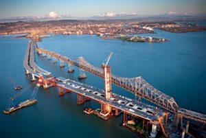 Строительство восточного моста San Francisco–Oakland Bay Bridge
