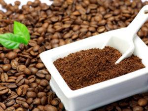 Чёрный кофе-средство от грибка