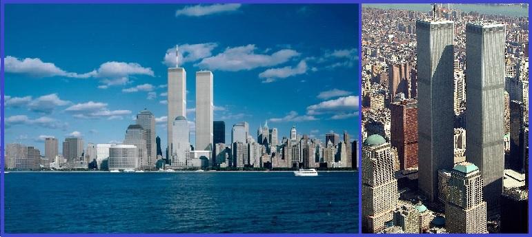 Башни-близнецы (Северная и Южная) ВТЦ, до разрушения