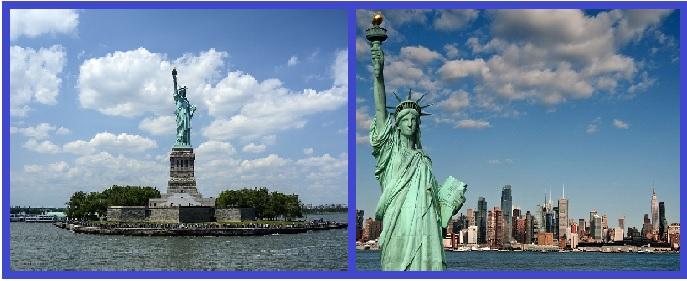 Виды на Статую Свободы