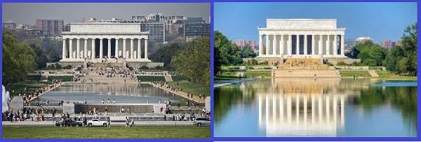 Мемориальный комплекс Линкольна в Вашингтоне