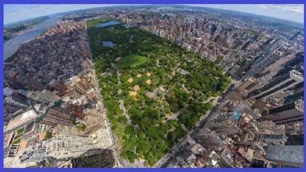Центральный парк в Нью Йорке