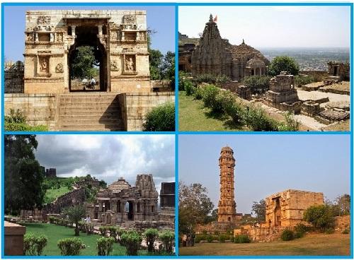 Виды форта Читторгарх