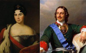Екатерина и Петр I