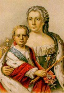 Иван VI и Анна Леопольдовна