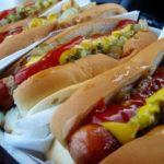 Горячие собаки (Hot-Dogs) на Заячьем острове (Coney Island)