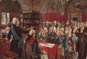Матвей Марков Екатерининская комиссия 1767 г
