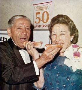Натан Хендверкер и его жена Ида Хендверкер