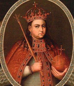 Царевна Софья. Портрет 1680-х гг.