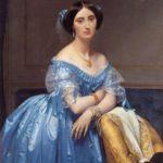 Ж Д.Э.Энгр.Портрет принцессы де Брольи.