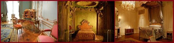 Залы европейской мебели. Интерьеры комнат из Франции,Италии,Англии