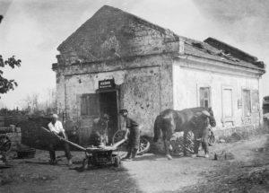 Кузница на селе. 1930г