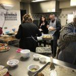Кухня и столовая центра Haber House