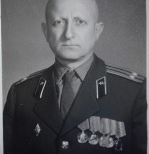 М.М. Ружанский, подполковник-инженер 1970 год