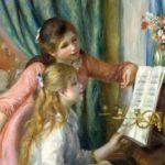 О. Ренуар Две девочки у рояля