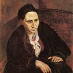 Пабло Пикассо.Портрет Гертруды Стайн.1906г.
