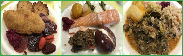 Рыбные блюда с гарниром