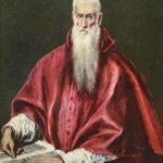 Эль Греко Святой Иероним в облачении кардинала.