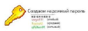 Примеры паролей