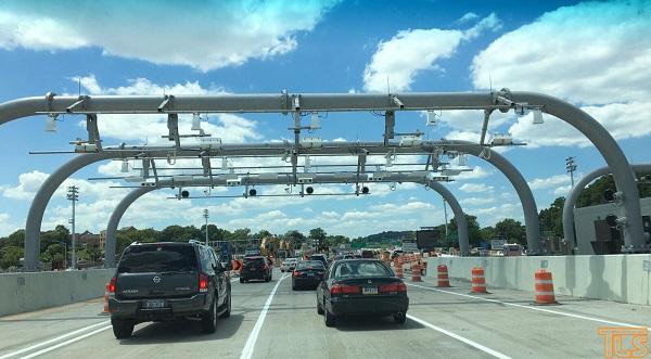 Въезд по Верразано мосту в сторону Стейтен-Айленда